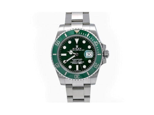 Men's Rolex Submariner Date 116610LV  40mm Mens Watch PRE-OWNED - Global Timez