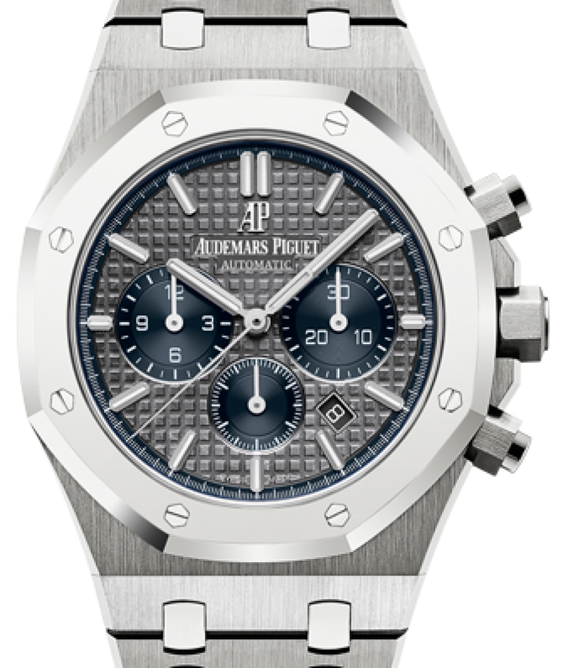 Men's Audemars Piguet Royal Oak Chronograph 26331IP.OO.1220IP.01 Slate Index Platinum Bezel & Titanium Case 41mm - BRAND NEW
