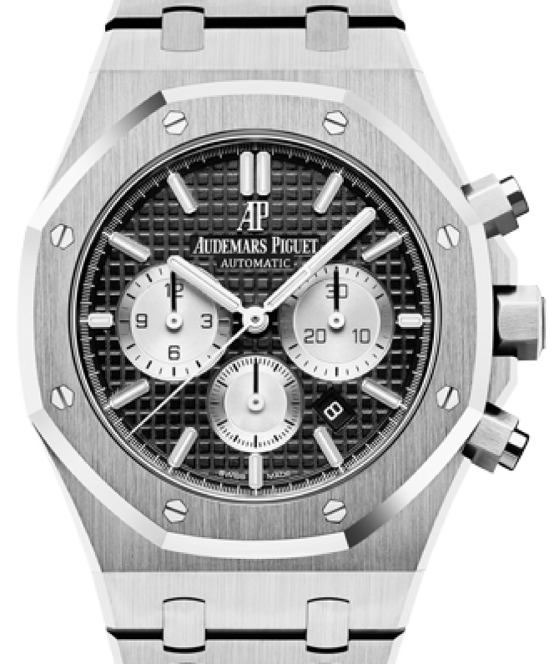 Men's Audemars Piguet Royal Oak Chronograph Stainless Steel 41mm Black Index 26331ST.OO.1220ST.02 - BRAND NEW