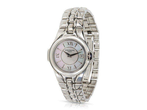 Ladies Patek Philippe Sculpture 4891/1A-001  Watch In Stainless Steel PRE-OWNED - Global Timez