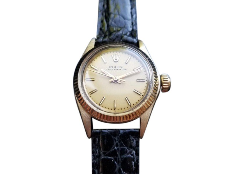 Ladies Rolex Oyster Perpetual 6719 Vintage 25mm Watch PRE-OWNED