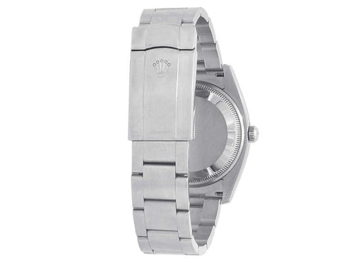 Men's Rolex Oyster Perpetual Air-King Stainless Steel Oyster White  Watch 114200 PRE-OWNED - Global Timez