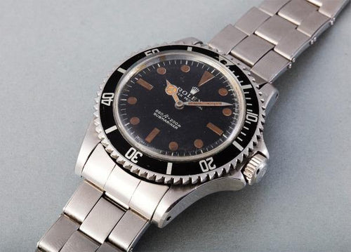 Men's Rolex THE JAMES BOND 1972 SUBMARINER - PRE-OWNED - Global Timez