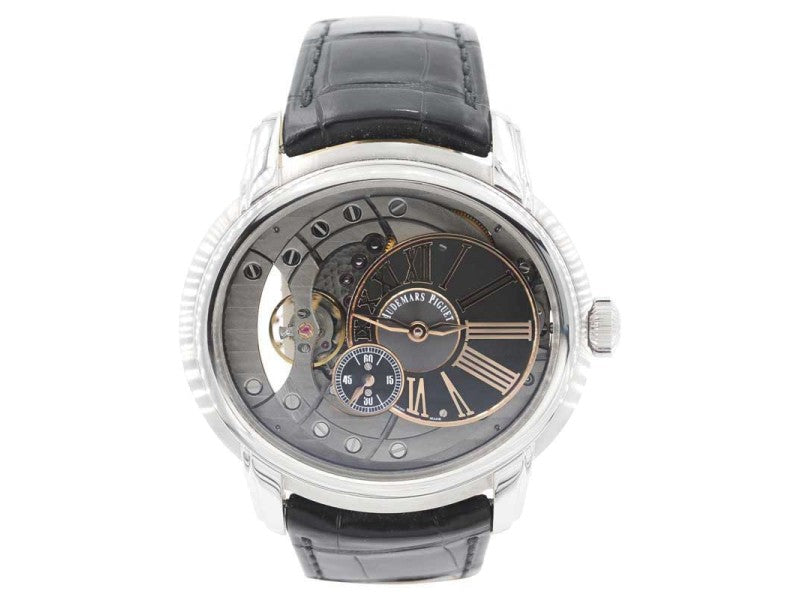 Men's Audemars Piguet Millenary 15350ST.OO.D002CR.01 47mm Mens Watch PRE-OWNED