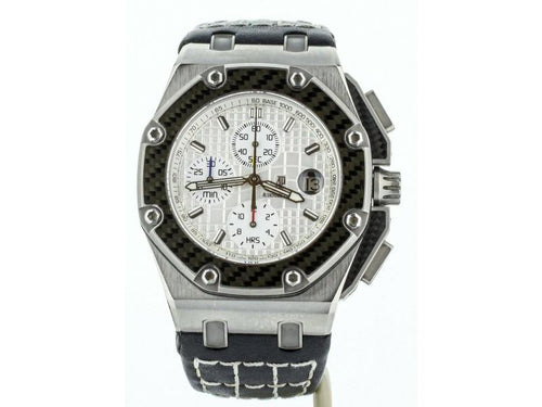 Men's Audemars Piguet Royal Oak Offshore Juan Pablo Montoya 44mm 26030IO.OO.D001IN.01 PRE-OWNED - Global Timez