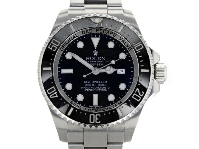 Men's Rolex 116660 Sea-Dweller  Stainless Steel Black BRAND NEW