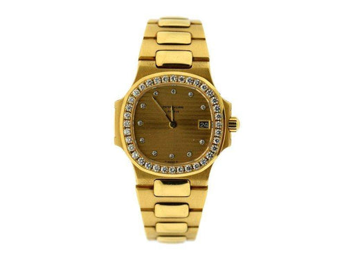 Ladies Patek Philippe Nautilus 4700J 27mm  Watch PRE-OWNED - Global Timez