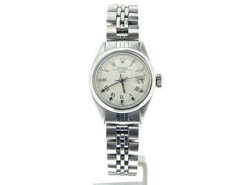 Ladies Rolex Date 6916 Vintage 26mm Watch PRE-OWNED - Global Timez