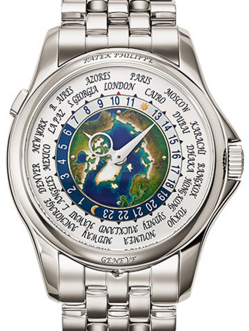 Men's Patek Philippe Complications White Cloisonné Platinum 39.5mm 5131/1P-001 - BRAND NEW - Global Timez