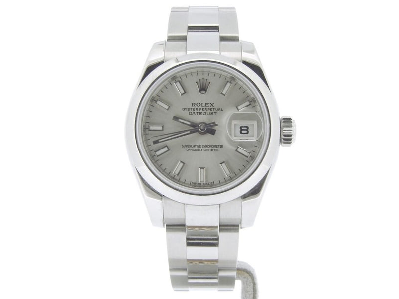 Ladies Rolex Stainless Steel Datejust Silver 179160 PRE-OWNED