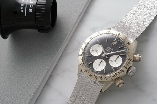 "Men's Rolex 6265 Daytona ""UNICORN""- PRE-OWNED - Global Timez"