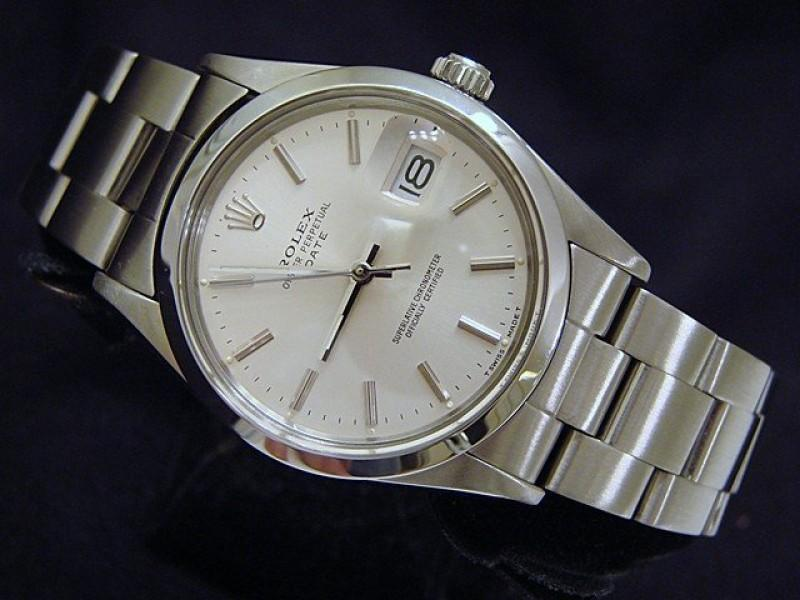 Men's Rolex Date 15000 Vintage 34mm Mens Watch PRE-OWNED