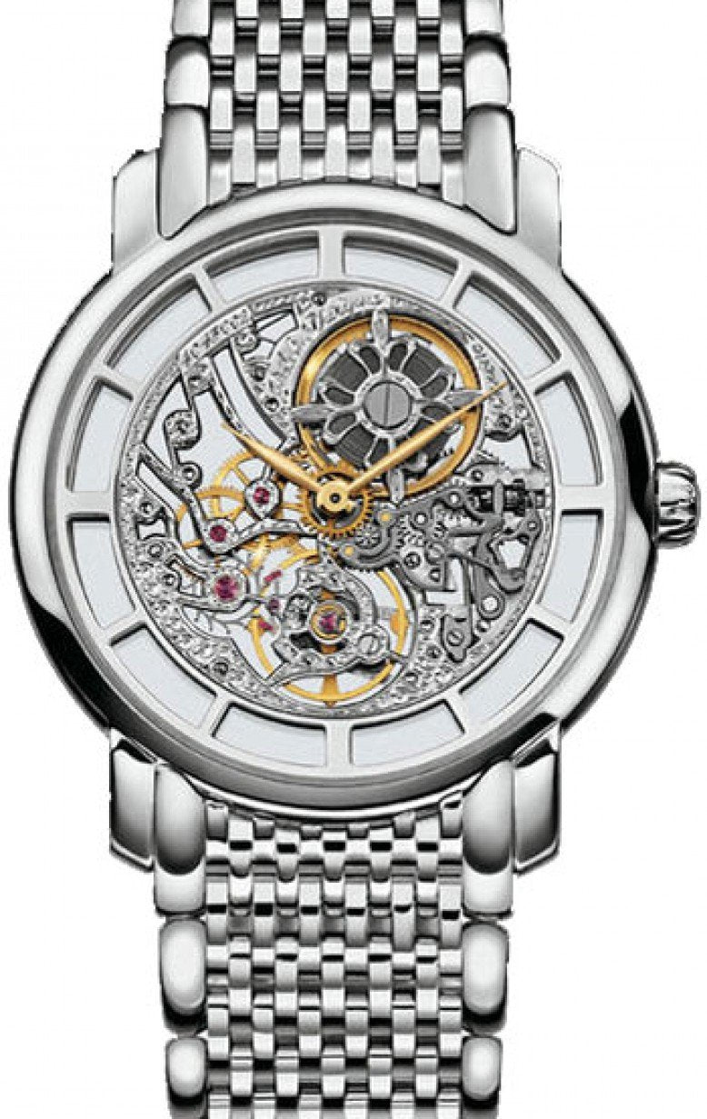 Patek Philippe 7180/1G-001 Complications Ladies 31.4mm Skeleton White Gold Manual BRAND NEW