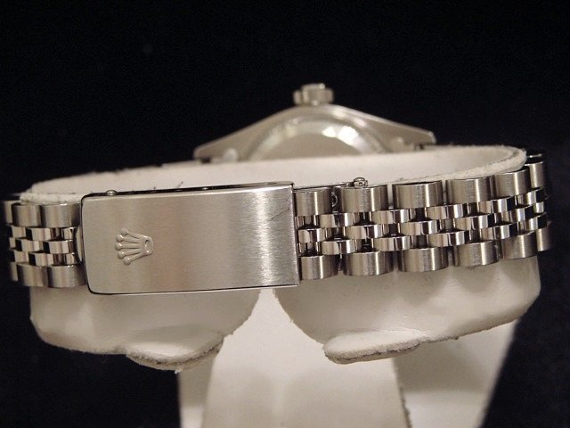 Ladies Rolex Stainless Steel Date Silver 79240 PRE-OWNED