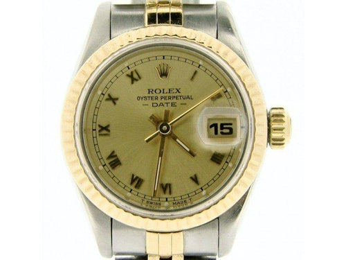 Ladies Rolex Date 69173 26mm Vintage Watch PRE-OWNED - Global Timez