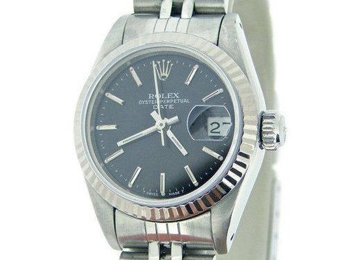 Ladies Rolex Date 69174 26mm Watch PRE-OWNED - Global Timez