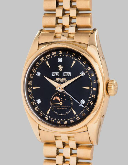"Men's Rolex 6062 ""Bao Dai""- PRE-OWNED - Global Timez"