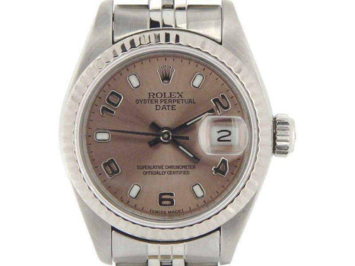 Ladies Rolex Date 69174 26mm Vintage Watch PRE-OWNED - Global Timez