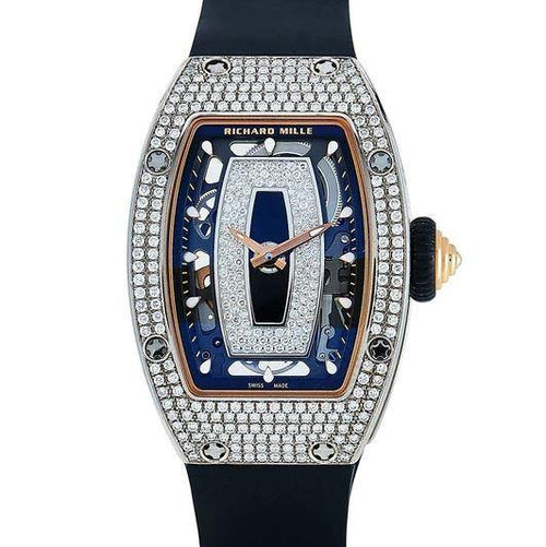 Women's RICHARD MILLE AUTOMATIC WATCH RM 07-01 RG BRAND NEW - Global Timez
