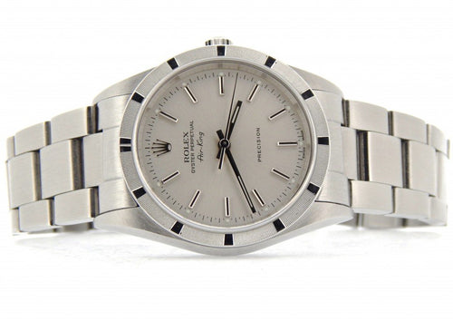 Men's Rolex Stainless Steel Air-King Silver 14010 PRE-OWNED