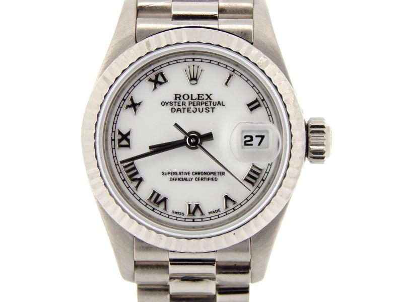 Ladies Rolex Datejust 69179 26mm Watch PRE-OWNED