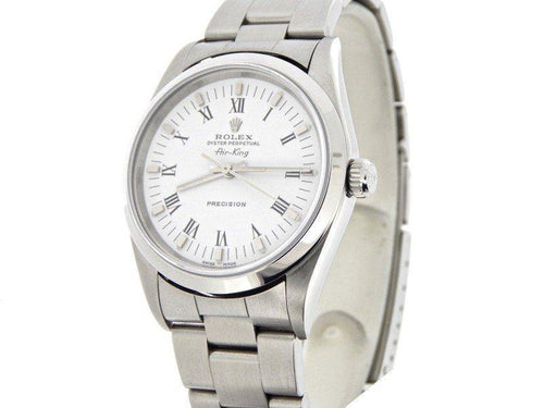 Men's Rolex Air-King 14000 36mm Mens Watch PRE-OWNED - Global Timez