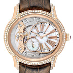 Audemars Piguet Millenary Rose Gold MOP Diamond Ladies Watch 77247OR PRE-OWNED - Global Timez