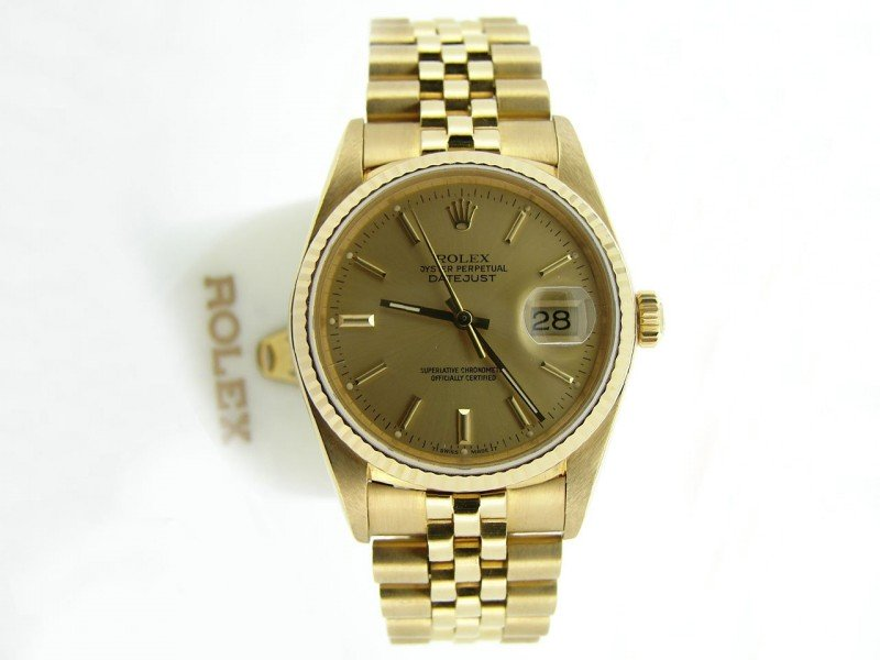 Men's Rolex Datejust 16238 36mm Mens Watch PRE-OWNED