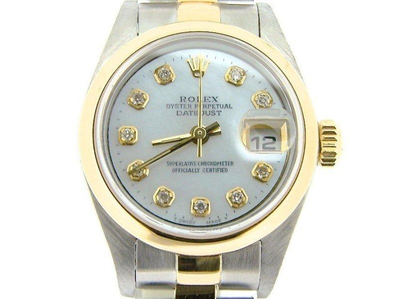 Ladies Rolex Datejust 79163 26mm Watch PRE-OWNED