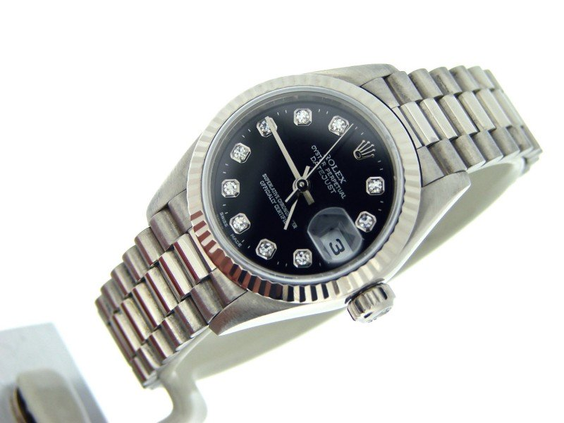 Ladies Rolex Datejust 79179 26mm Watch PRE-OWNED