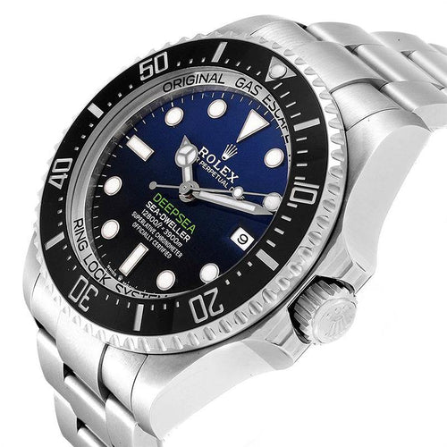 Men's Rolex Deepsea 126660BLSO 44mm Watch BRAND NEW - Global Timez