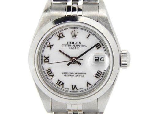 Ladies Rolex Date 79160 26mm Watch PRE-OWNED - Global Timez