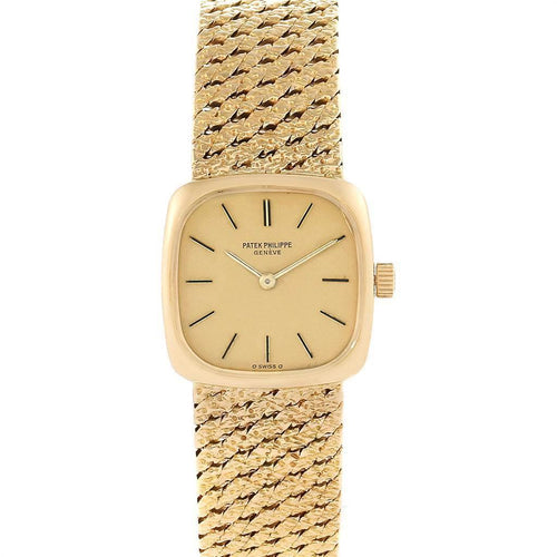 Patek Philippe 18K Yellow Gold Vintage Cocktail Ladies Watch 4179 PRE-OWNED - Global Timez