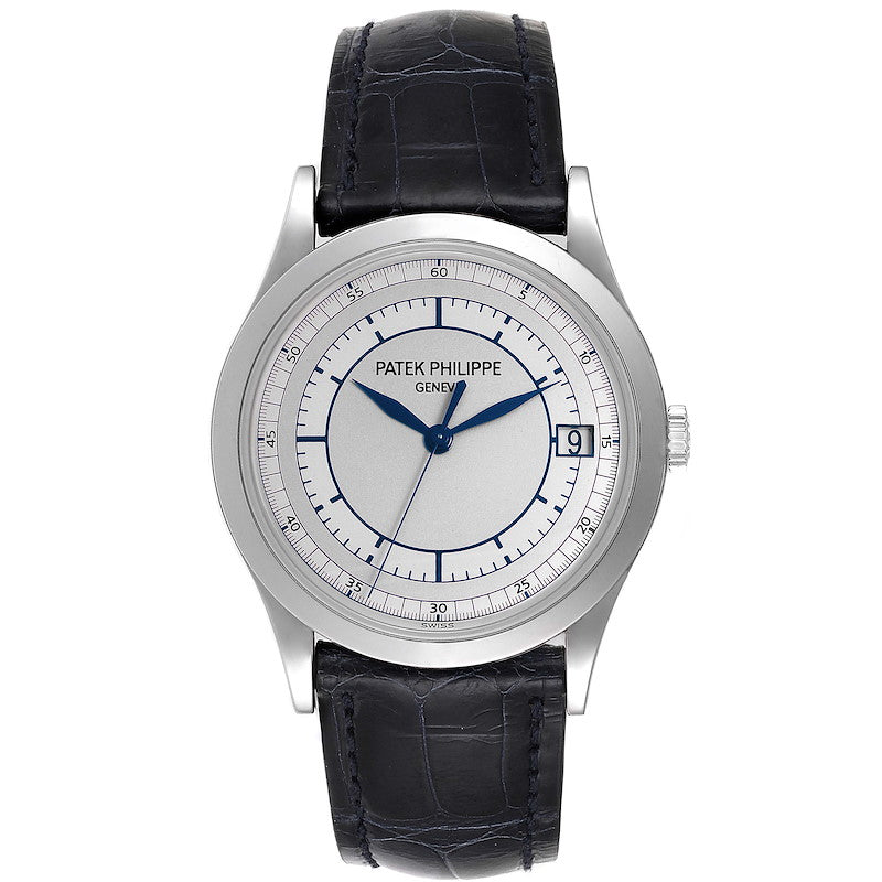 Men's Patek Philippe Calatrava White Gold Automatic Mens Watch 5296 PRE-OWNED