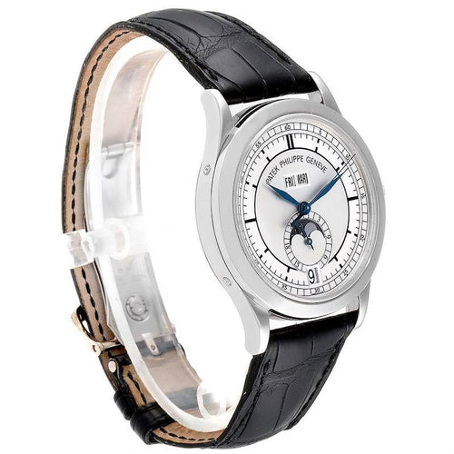 Men's Patek Philippe Complications Annual Calendar White Gold Mens Watch 5396 PRE-OWNED - Global Timez