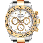 Men's Rolex Cosmograph Daytona White Dial Steel Yellow Gold Men's Watch 116503 PRE-OWNED