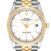 Rolex Datejust Steel Yellow Gold Jubilee Bracelet Men's Watch 126233 PRE-OWNED