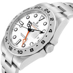 Men's Rolex Explorer II 42 White Dial Orange Hand Steel Men's Watch 216570 PRE-OWNED