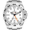 Men's Rolex Explorer II 42 White Dial Stainless Steel Watch 216570 Box Card PRE-OWNED