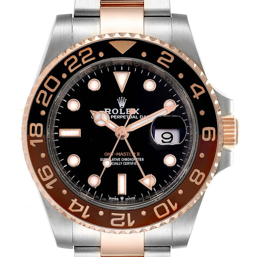 Men's Rolex GMT Master II Steel Everose Gold Men's Watch 126711 PRE-OWNED