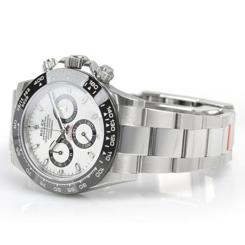 Men's Rolex Daytona Stainless Steel White Index Dial Ceramic Bezel Oyster Bracelet 116500LN - BRAND NEW