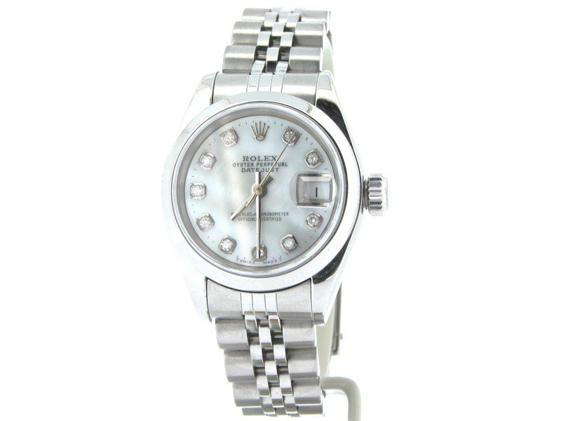 Ladies Rolex Datejust 69160 26mm Watch PRE-OWNED