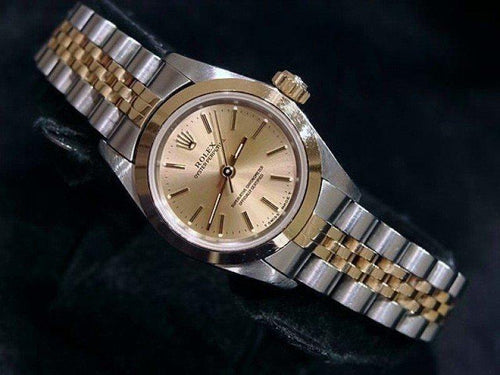 Ladies Rolex Oyster Perpetual 67183 24mm Watch PRE-OWNED - Global Timez