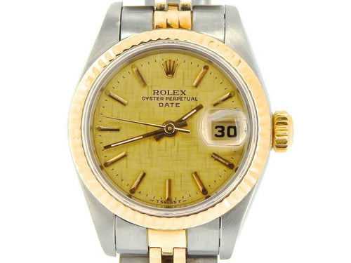 Ladies Rolex Date 69173 26mm Watch PRE-OWNED - Global Timez