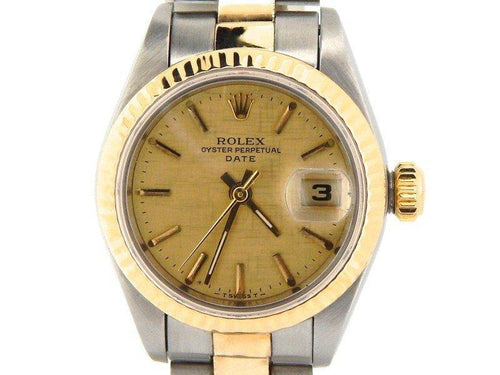 Ladies Rolex Date 69173 26m Watch PRE-OWNED - Global Timez