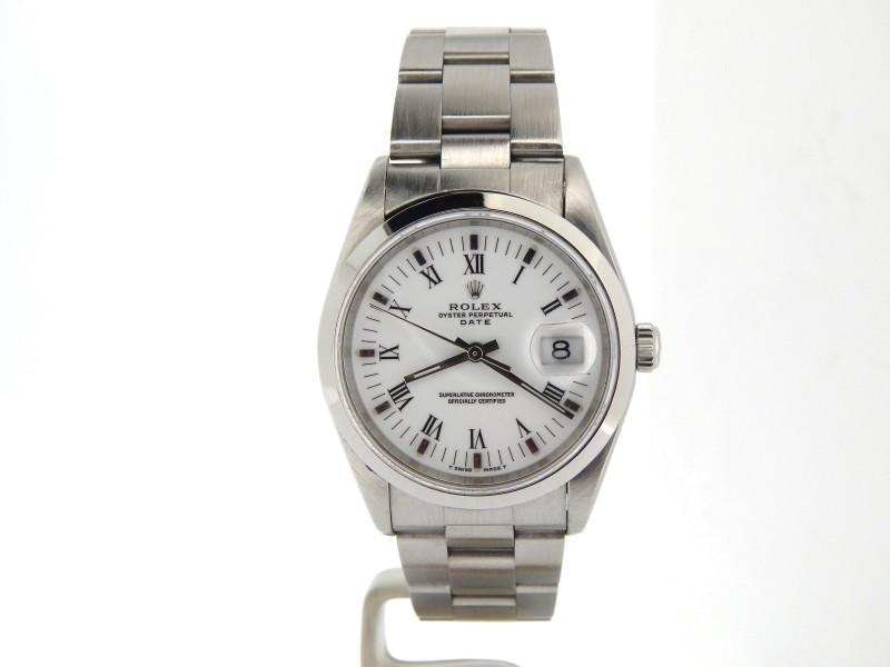 Men's Rolex Date 15200 34mm Mens Watch PRE-OWNED