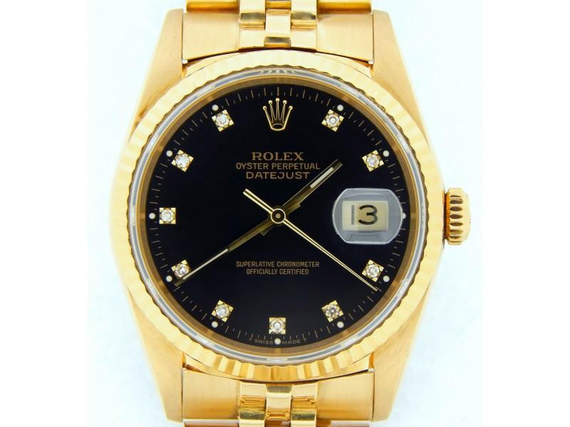 Men's Rolex Datejust 16238 Vintage 36mm Mens Watch PRE-OWNED