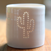 Load image into Gallery viewer, Cactus mini tealight holder