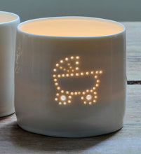 Load image into Gallery viewer, Baby carriage mini tealight holder