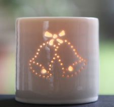 Wedding Bells mini tealight holder